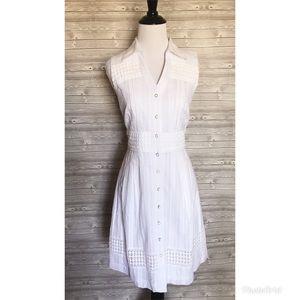 4 for $44 Antonio melani white button down dress